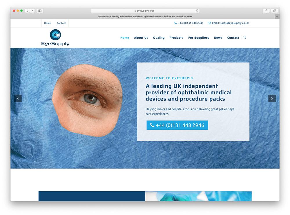 EyeSupply new website